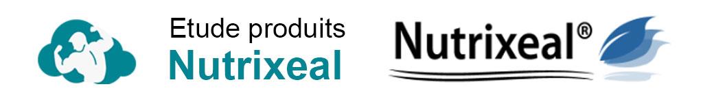 Etude de produits nutrixeal tests et avis